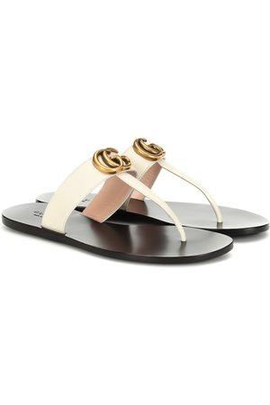 Gucci Femme Mules & Sabots - Mules Marmont en cuir