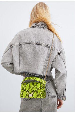 Zara Mini sac de ville à imprimé animalier