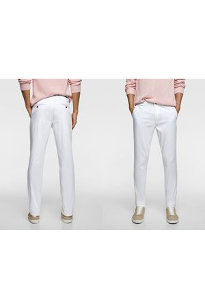 Zara Pantalon chino à coupe slim