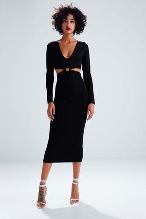 8d465cb7173 Robes en maille femme ton Zara - comparez et achetez