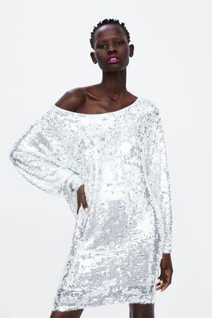 Zara Robe mini à paillettes