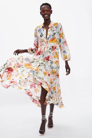 85cbc7c0711 Robes femme taille imprime Zara - comparez et achetez