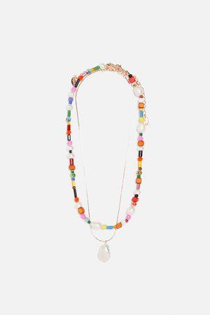les ventes chaudes Baskets 2018 france pas cher vente Lot de colliers en perle de culture et multicolores