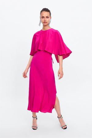 Zara Robe fluide cape