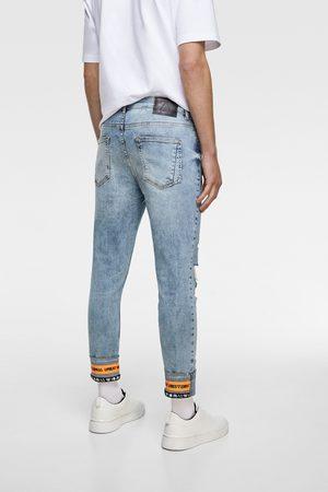 Zara Jean skinny avec rubans