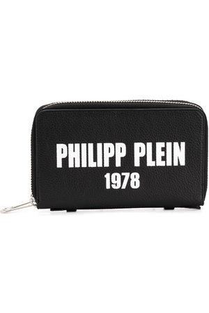 Philipp Plein Portefeuille long à logo