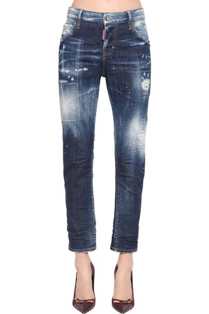 Dsquared2 Fille Pantalons - Pantalon Cool Girl En Denim De Coton
