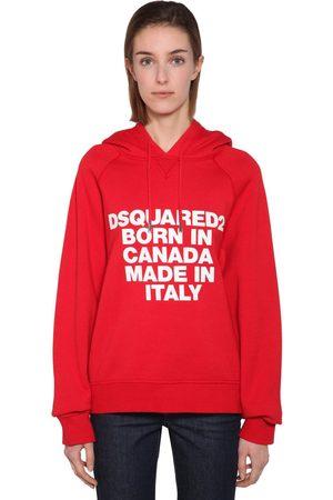 Dsquared2 Femme Sweatshirts - Sweat-shirt À Capuche Imprimé