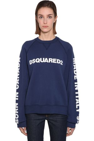 Dsquared2 Sweat-shirt En Coton À Imprimé Logo