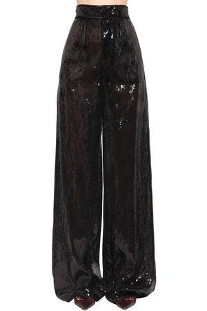 Dsquared2 Pantalon Ample En Sequins Taille Haute