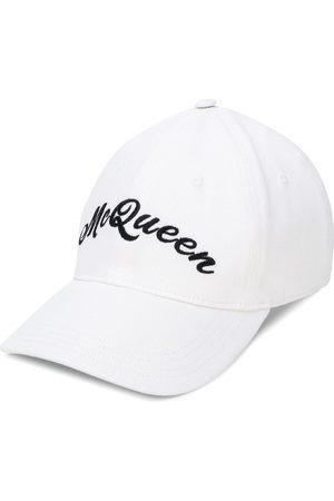Alexander McQueen Casquette à logo brodé