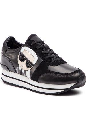 Karl Lagerfeld Sneakers - KL61930 Black Lthr/Suede