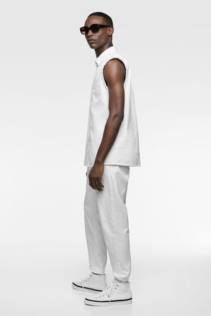 Zara Chemise en jean sans manches