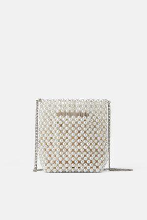 Zara Mini sac seau à perles