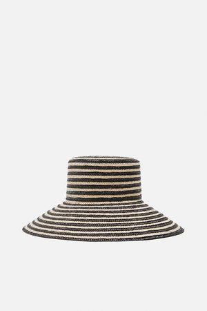 Zara Chapeau bicolore