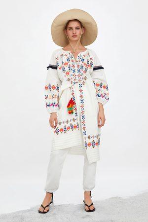 Zara Tunique brodée colorée