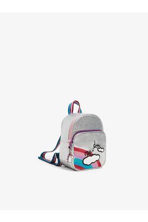 Zara Mini sac à dos à paillettes avec arc-en-ciel