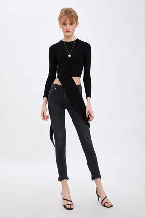 Zara Jean taille basse skinny compact