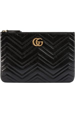 Gucci Femme Pochettes & Étuis - Pochette GG Marmont en cuir