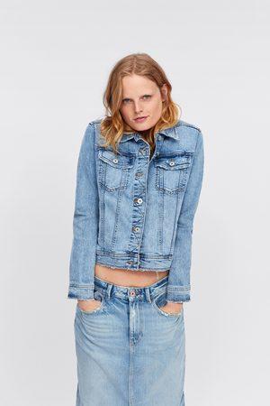 jacket jean zara