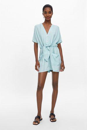 Zara Combi-short à poches