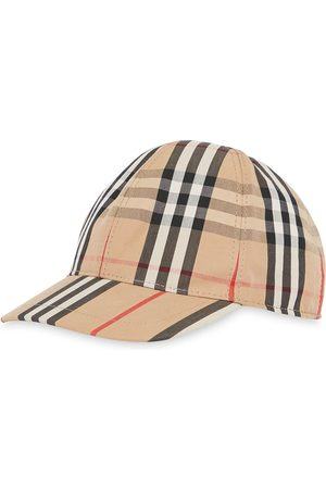 Burberry Vintage Check and Icon Stripe Baseball Cap