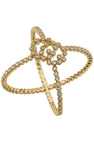 Gucci Femme Bagues - Bague GG Running à détails de diamants