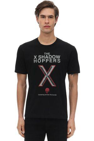 UNDERCOVER Homme T-shirts - T-shirt En Jersey De Coton Imprimé