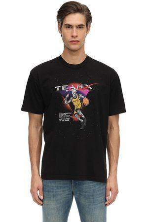 JUST DON T-shirt En Jersey De Coton Imprimé