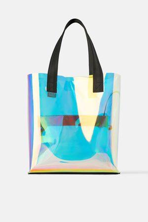 Zara Sac shopper irisé