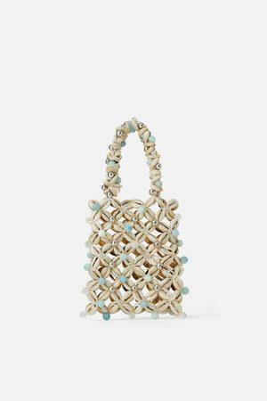 Zara Mini sac à main à coquillages