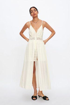 Zara Combinaison robe en dentelle
