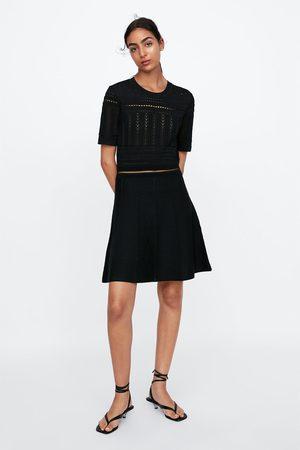60731b25d17 Acheter Robes en maille femme Zara en Ligne