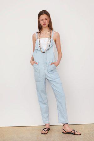 Zara Femme Combinaisons - Combinaison longue à poches