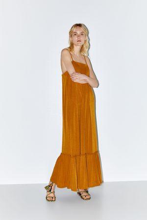Zara Femme Robes longues - Robe longue structurée