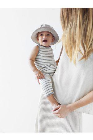 Zara Combinaison en maille à rayures