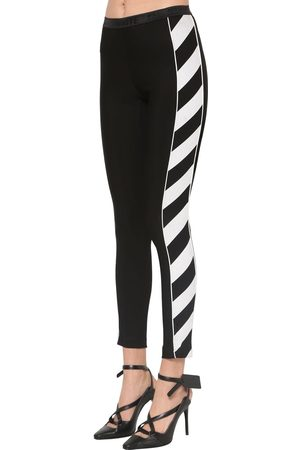 OFF-WHITE Legging En Jersey Stretch
