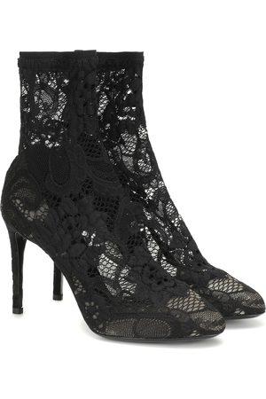 Dolce & Gabbana Femme Bottines - Bottines en dentelle