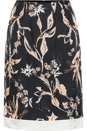 Dorothee Schumacher Jupe Tamed Florals imprimée en soie mélangée