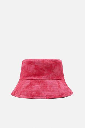 Zara Femme Chapeaux - Bob à effet délavé