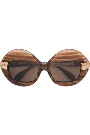 A.N.G.E.L.O. Vintage Cult Striped frame oversized sunglasses