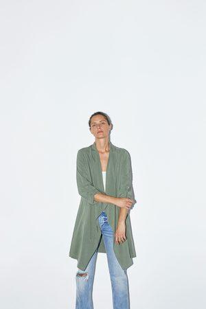 Zara Veste longue et fluide style saharienne