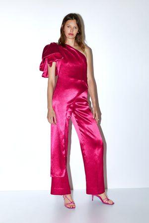 Zara Pantalon large satiné édition limitée