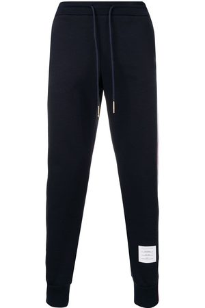 Thom Browne Homme Joggings - Pantalon de jogging à détail rayé
