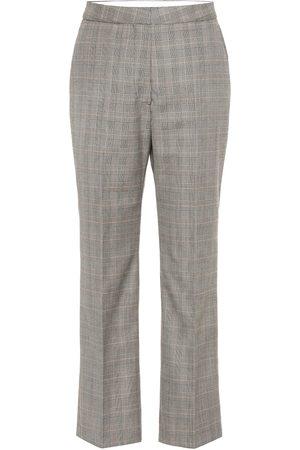 Stella McCartney Femme Pantalons classiques - Pantalon imprimé en laine