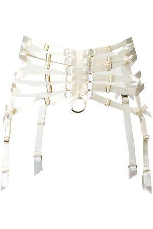 BORDELLE Porte jarretelle à ceinture façon bondage