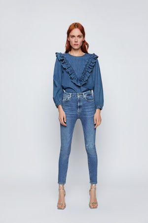 Zara Jean zw premium 80s high waist venice blue