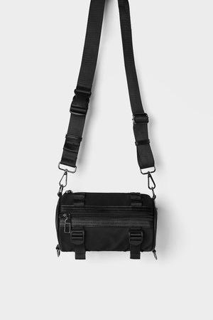 Zara Sac bandoulière porté croisé tubulaire