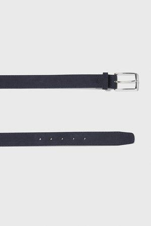Zara Homme Ceintures - Split suede belt