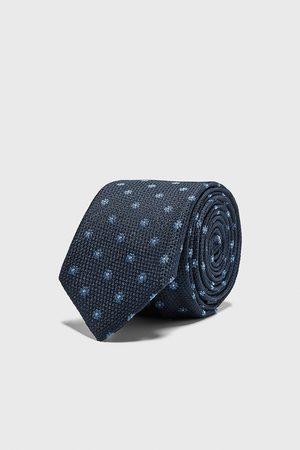 Zara Homme Cravates - Cravate slim en jacquard fleuri
